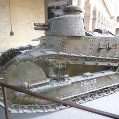 Рено ФТ в парижском Музее армии.