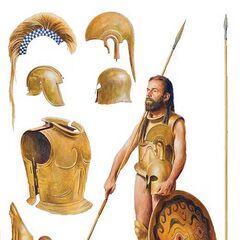 Гоплит начала V века до н. э.