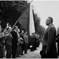 Стефан Осуский вместе с чехословацкими патриотами в Париже, осень 1939 года.
