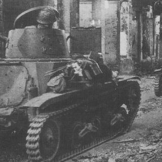 Малые танки Тип 94 на марше