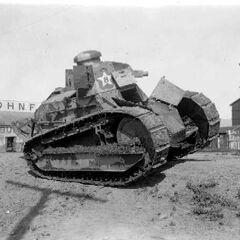 M1917 вооруженный пулеметом