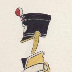 Фузилер 7-го линейного полка, 1811 - 1812 гг.