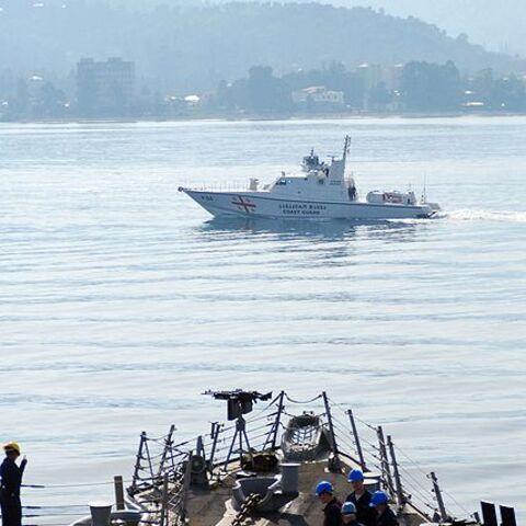 Патрульный катер ВМС Грузии.