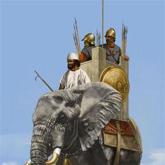 Карфагенский боевой слон.