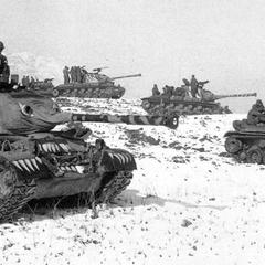 M46 6-го танкового батальона с