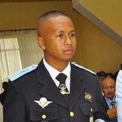 Лейтенант ВВС Мадагаскара.