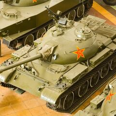 Type 62 в Военном музее в Пекине, 2007 г.