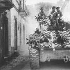 Польский танк из состава корпуса в Италии.