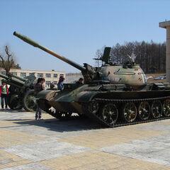 Type 62 в Мемориальном комплексе возле о. Даманский.