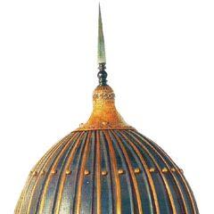 Составной булатный  шлем - Курама болат дулыга.