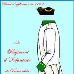 Униформа с 1762 по 1776 года.