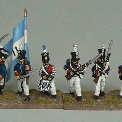 11-й пехотный батальон Аргентины, 1817 - 1818 гг.