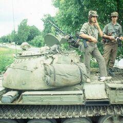 Захваченный танк <a href=