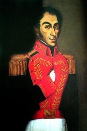 Simón Bolívar - Juan Lovera, 1827