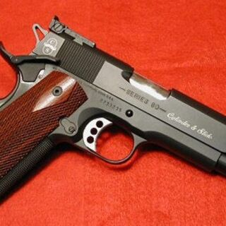 Кастомизированный Colt Government model Series 80 .45ACP.