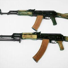 АК-74 в сравнении с <a href=