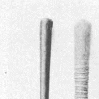 7. Длина - 50 см, диаметр 3 см,<br /> 8. Длина - 48 см, диаметр - от 3 до 5 см.