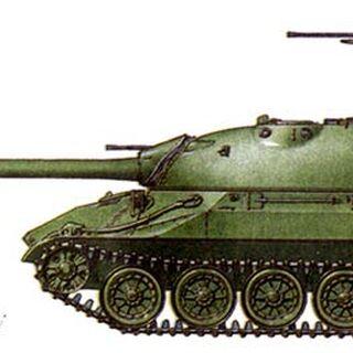 ИС-7. Опытный, изготовлен в 1948 г.