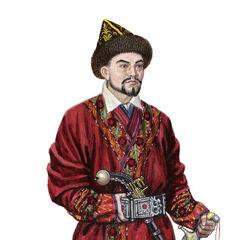 Казахский султан, XIX век.
