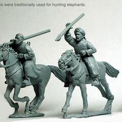 Такие копья охотники Баггара использовали для охоты на слонов.