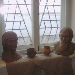 Реконструкция трипольских лиц.