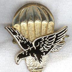 Знак тоголезских парашютистов.