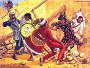 Осада Теночтитлана, 1519-20 гг