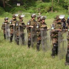 Новозеландская армия на Соломоновых островах.