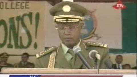 Ethiopian Military Defence Institute - Graduation Ceremony - Part 1