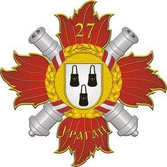 Рисунок нагрудного знака 27-го полка, принятый