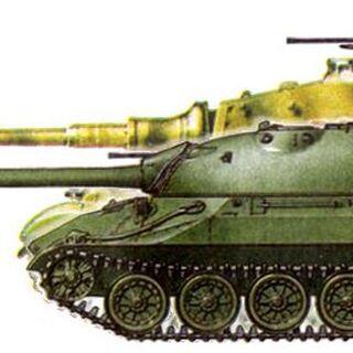 ИС-7 и Tiger II.