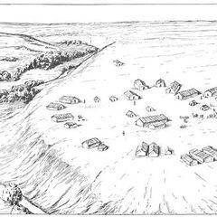 Коломийщина I. Реконструкция поселения.