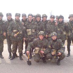 2-я рота на полигоне, 2012 г.