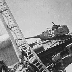 Уничтоженный Тип 58, корейская война.