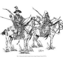 Казахский султан Среднего жуза и батыр Младшего жуза, XVIII век.