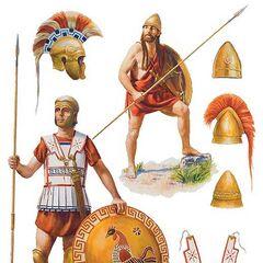 Гоплиты IV века до н. э.