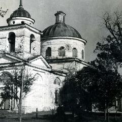 Церковь, за которую шёл ожесточённый бой.