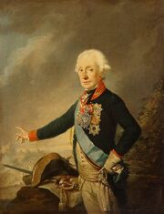 Joseph Kreutzinger - Portrait of Count Alexander Suvorov - WGA12281