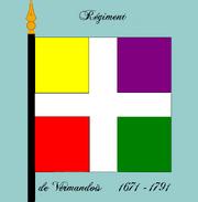 Rgt Vermandois 1671-1791