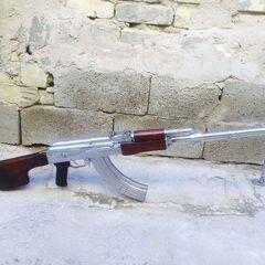 Хромированный РПК с Багдадского оружейного черного рынка.