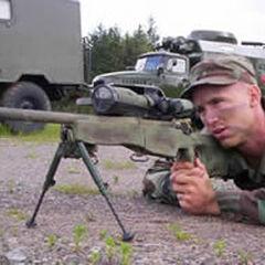 Снайпер с винтовкой <a class=