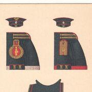 Интендантская карточка 16-го стрелкового императора Александра III полка 1
