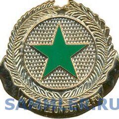 Общевойсковая эмблема ВС Сенегала.