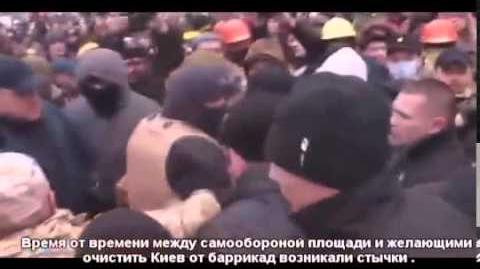 Самооборона Евромаймайдану отбила атаку на баррикады