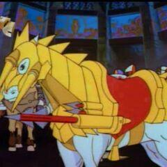 Конь Артура с пусковой установкой (мини-аналог <a href=