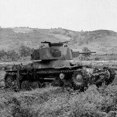 Японский танк Тип 97
