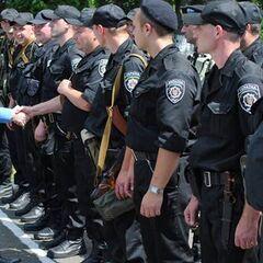 Принятие присяги очередным взводом батальона