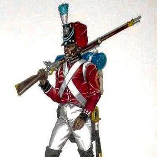 Гренадер 7-го пехотного батальона, 1813 г.