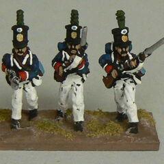 Егеря 11-го пехотного батальона.