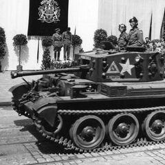 Возвращение бригады на Родину, Прага 12 мая, 1945 года.